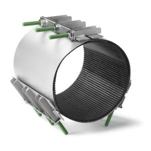 Хомуты (свертные муфты) для ремонта трубопроводов