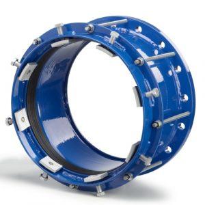 Фланцевый адаптер из стали с фиксаторами FITTOSize Grip для труб 600-635 мм длиной 270 мм