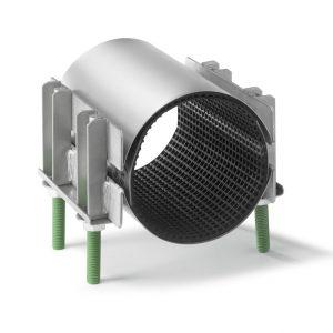 RS-2 Двухленточный хомут для труб диаметром 88-855мм