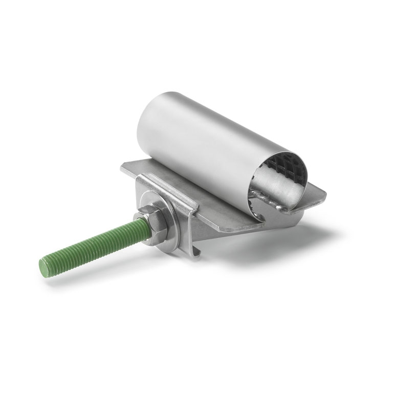 Ремонтные хомуты с частичным уплотнением длиной 100-150 мм для труб диаметром 82-90 мм