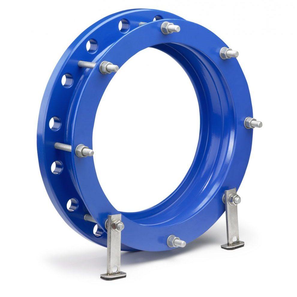 Фланцевый адаптер стальной FittoSize для труб 609.6 / 605-620 мм длиной 170 мм